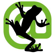 Auf dem Bild ist das Logo des SEO Tools ScreamingFrog zu sehen.